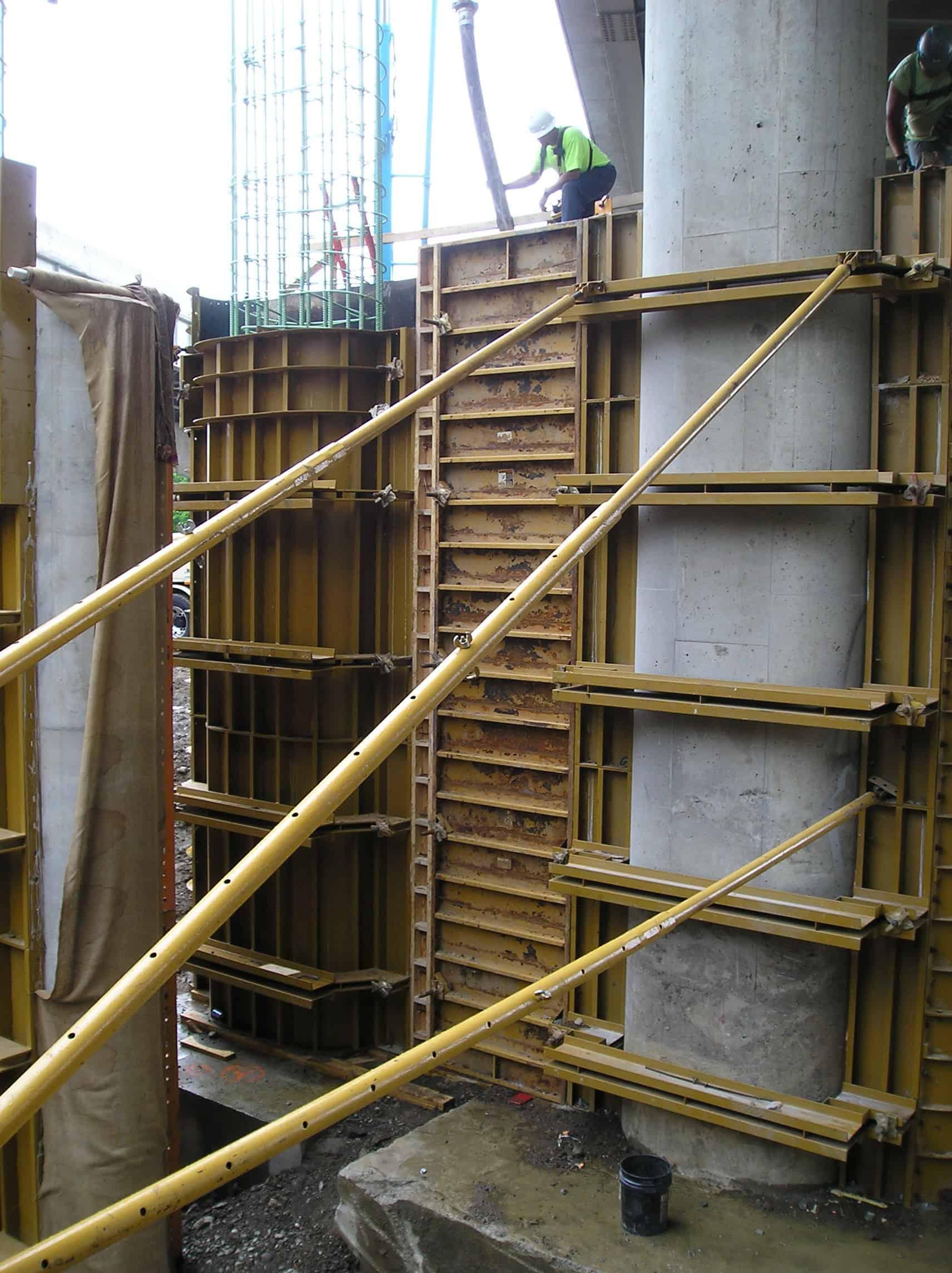 One Sided Wall Formwork Concrete Wall Form Pennsylvania